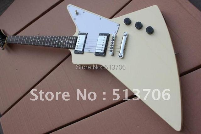 Custom Shop Cream Electric Guitar New Arrival Free Shipping Wholesale Guitars
