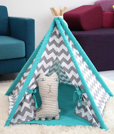 Cat tent, indoor use, without pet mat
