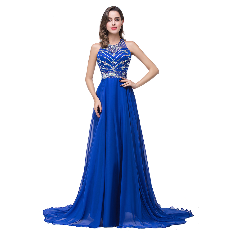 Popular Sparkly Royal Blue Long Dress-Buy Cheap Sparkly Royal Blue ...