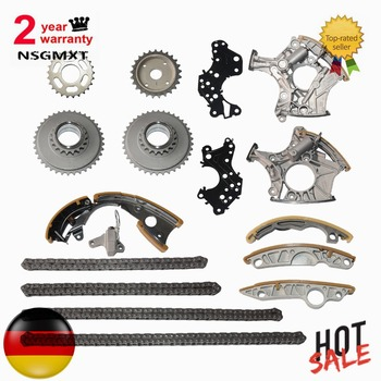 AP01 Full Kit Timing Chain Tensioner Gasket For Audi A6 A4 A6 Q7 A8 R8 2.4L 3.2FSI  For Audi Allroad Avant Saloon Convertible