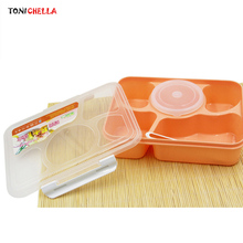 Baby Food Container Children Meal Feeding Tableware Bowls With Lid Infant Training Storage Children Plate Dinnerware T0661