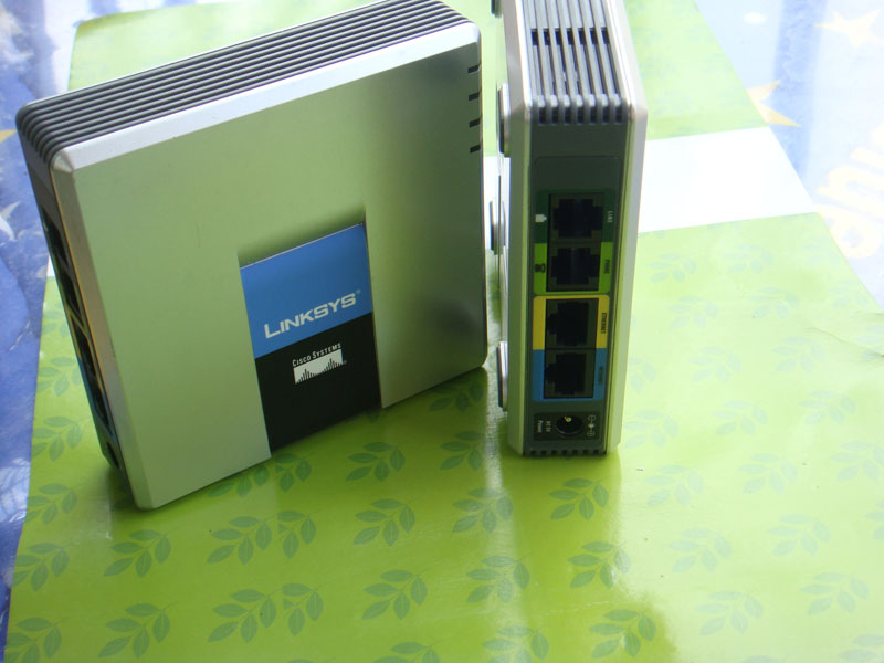 Unlocked Linksys Voice Gateway SPA3102 VoIP Phone Adapter with Router retail box