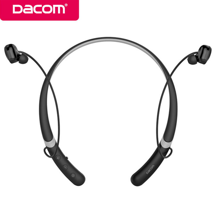 Dacom L02 IPX5 Waterproof Bluetooth Earbuds Headset Wireless Handsfree Stereo Sport Earphones with Mic for iPhone Xiaomi Phone picun h6 sport running bluetooth headset wireless earphones stereo music earbuds with mic headset for iphone xiaomi huawei