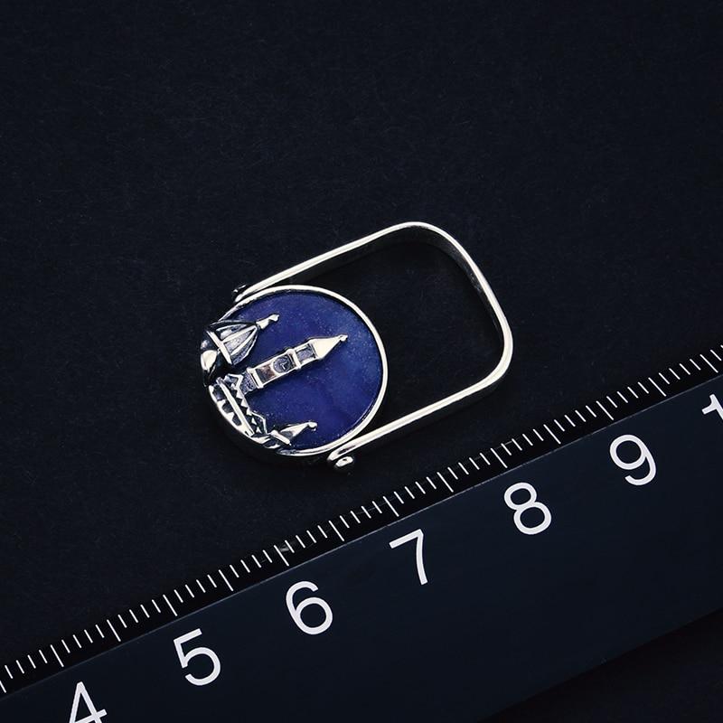 Lotus Fun Real 925 ստերլինգ արծաթ Բնական - Նուրբ զարդեր - Լուսանկար 4