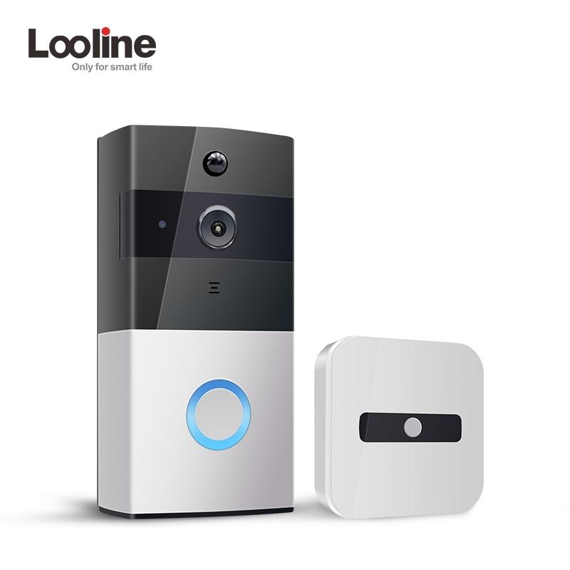 Door Bell Camera Wifi Video Intercom IP Doorbell Looline Outdoor Battery PIR IP65 Waterproof Night Vision Deurbel Door Phone