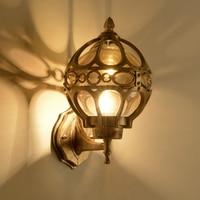 European Retro Wall Lamp Outdoor Lights Villa Balcony Garden Lamps Vintage Wall Lighting Retro Exterior Applique Luminaire Avize