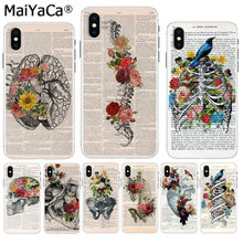 Funda de accesorios de teléfono colorida para iPhone 8 7 6 6S Plus X XS max 10 5 5S SE XR(China)