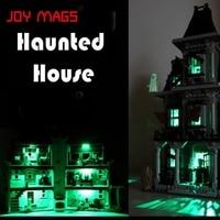 Led Building Blocks Kit For Creator 10228 City Monster Fighter Haunted House Lepin 16007 Model Is
