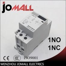 2P 32A 40A 63A 220V/230V 50/60HZ din rail household ac contactor 1NO 1NC