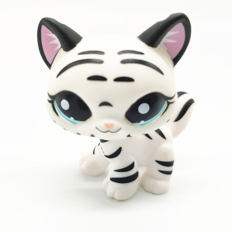 Rare Lps Pet Shop Mini Toys Set Short Hair Cat Great Dane Collie Dog PVC Action Figure Toys Dolls Model Kids Gifts Toys For Girl
