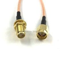 1 шт. 10 см SMA мужчин и женщин Пигтейл сети WLAN антенный RG316 коаксиальный кабель