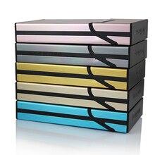 New Ultra Thin Fashion Pipe Creative Personality Cigaret Case Slim Metal Cigarette Box Aluminum Gift Box Mini Cigarette Holder