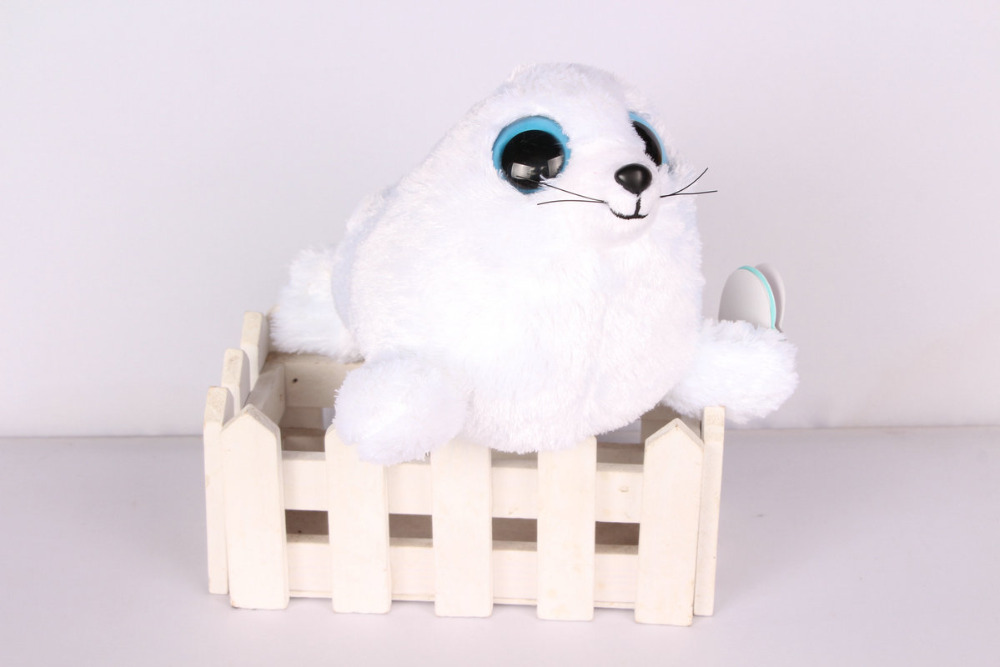 TY Beanie Boos ICEBERG the White Seal Plush Christmas Gifts Lovely Kawaii Cute Soft Stuffed Animals