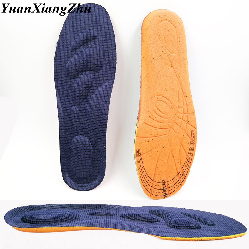3D Memory Foam Sports Insole Orthotics Arch Support Shoes Insoles Man Women Flat Feet Pad Stretch Running Breathable Insoles