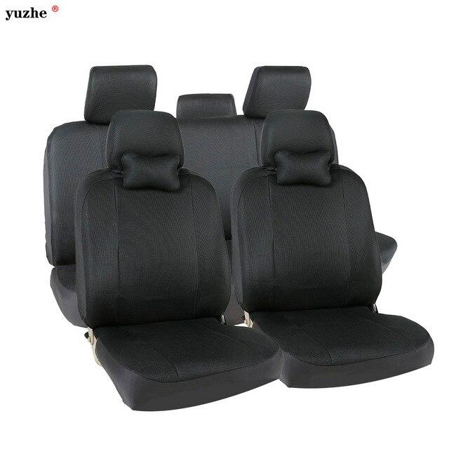 Yuzhe Universal car seat covers For Toyota Honda Nissan Mazda Lexus Jeep Subaru Mitsubishi Suzuki Kia Hyundai Ssangyong styling