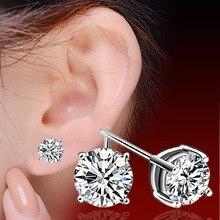 CKCL Brand Design New hot Fashion Popular Luxury Crystal Zircon Stud Earrings Elegant earrings jewelry for women jewelry earring
