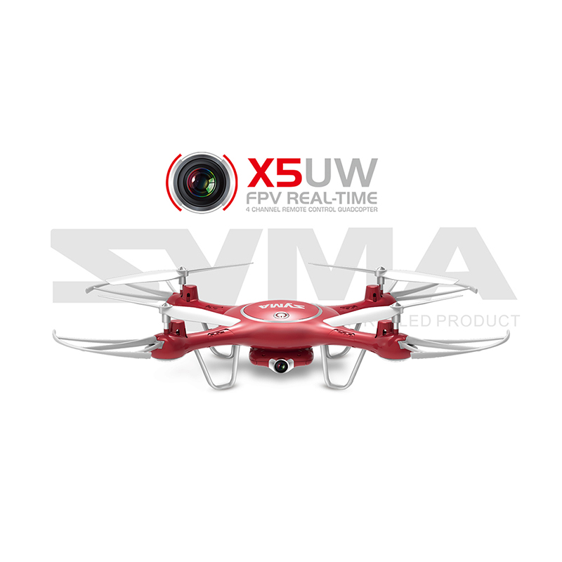 New Arrival SYMA X5UW 720P WIFI FPV With 2MP HD Camera 2.4G 4CH 6Axis RC Quadcopter RTF Remote Control Toys Gift Mode2 new arrival free shipping new arrival mjx x705c x705 wifi rc helicopter quadcopter 2 4g 4ch rtf with without c4005 fpv camera
