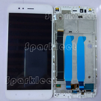 Black and White 5.5' LCD Screen with Frame For Xiaomi mi 5x A1 LCD Display Touch Screen Digitizer Assembly