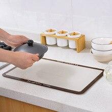 1 шт. прямоуглольный, алюминиевый фольга изоляционная накладка водостойкая кухонный стол столешница маслонепроницаемый коврик анти-горячий Подставка под горячее