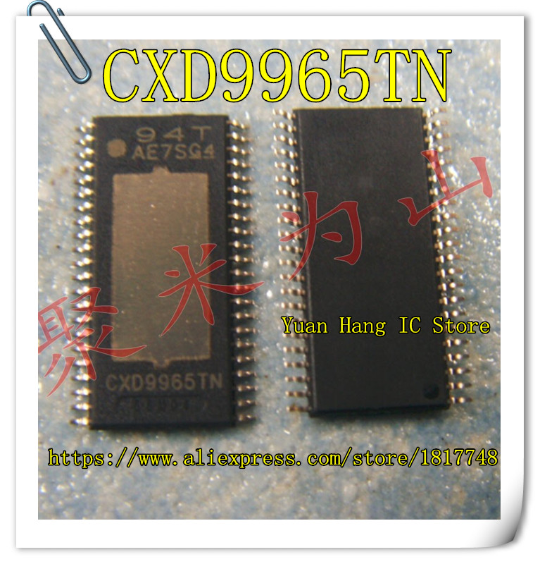 5PCS/LOT Free Shipping CXD9965TN TSSOP CXD9965T CXD9965 9965TN TSSOP-44  Audio Power Amplifier New Original