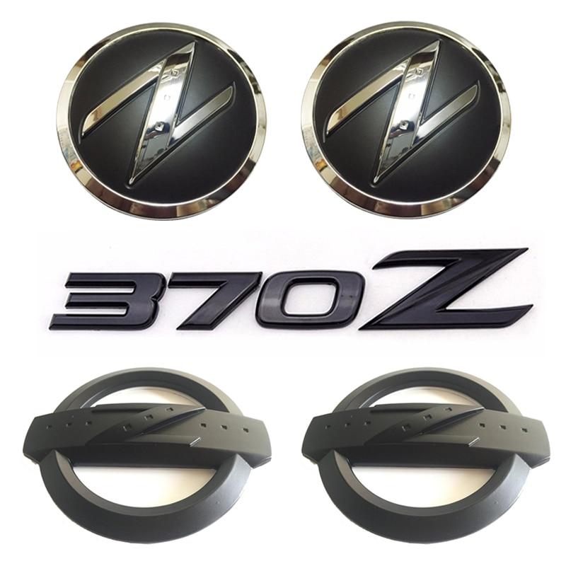 1 set(5x) Black 3D 370 Z Symbol Car Body Front Rear Side Emblem Badge Stickers for NISSAN 370Z Fairlady Z Z34 ю ф каторин подводные лодки часть 1