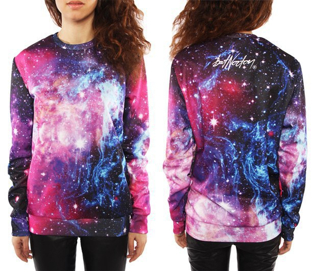 The space clothing store