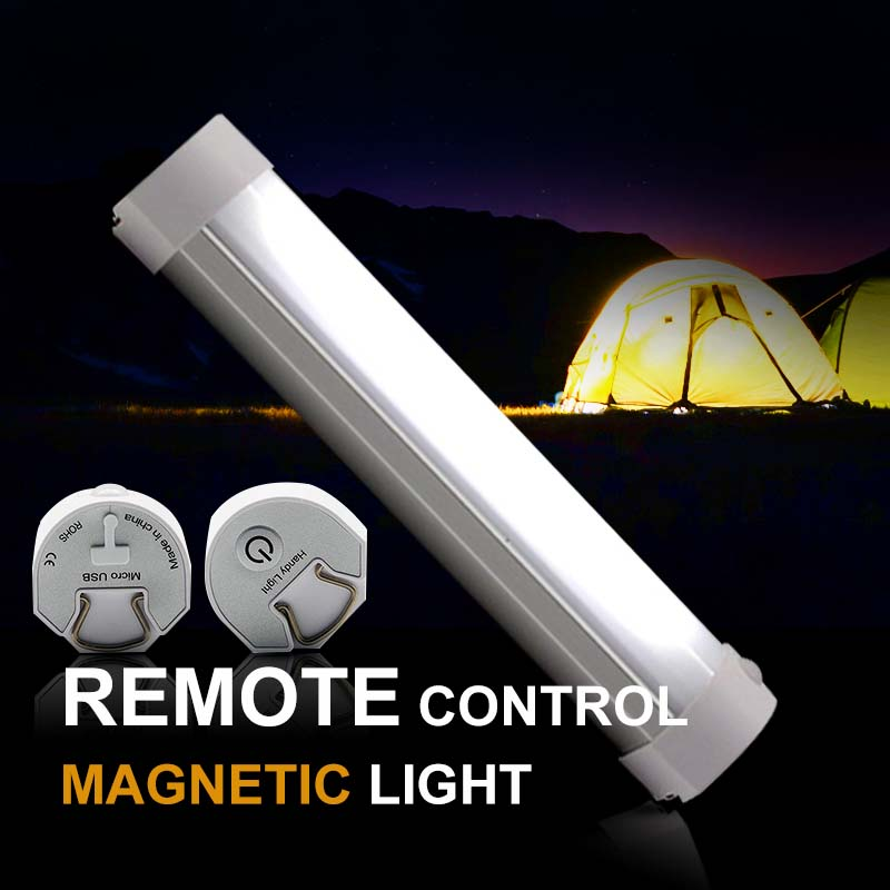 IR Remote Control Camping Light 1W Black White USB Rechargeable Portable Lamp Strong Magnet Hanging Bivvy Light for Fishing 1w 10 led 70lm white bendable usb light translucent white black