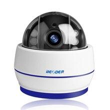 BESDER اللاسلكية سرعة قبة PTZ واي فاي كاميرا HD 1080P 960P التركيز التلقائي 5X التكبير 2.7 13.5 مللي متر الصوت ONVIF P2P IP كاميرا SD فتحة للبطاقات