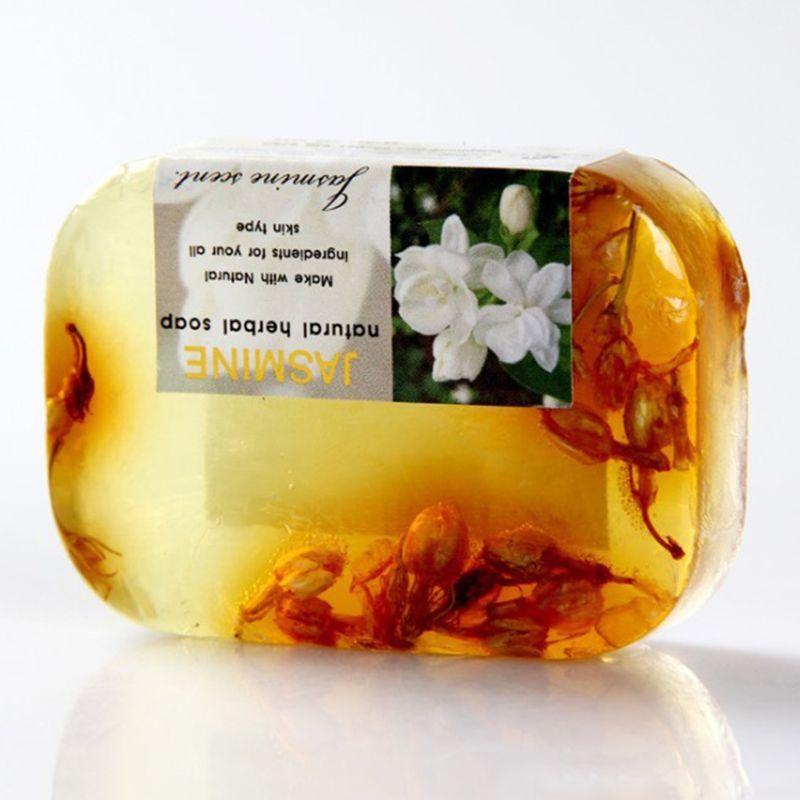 90g flor de jasmim perfumado sabonete artesanal 01