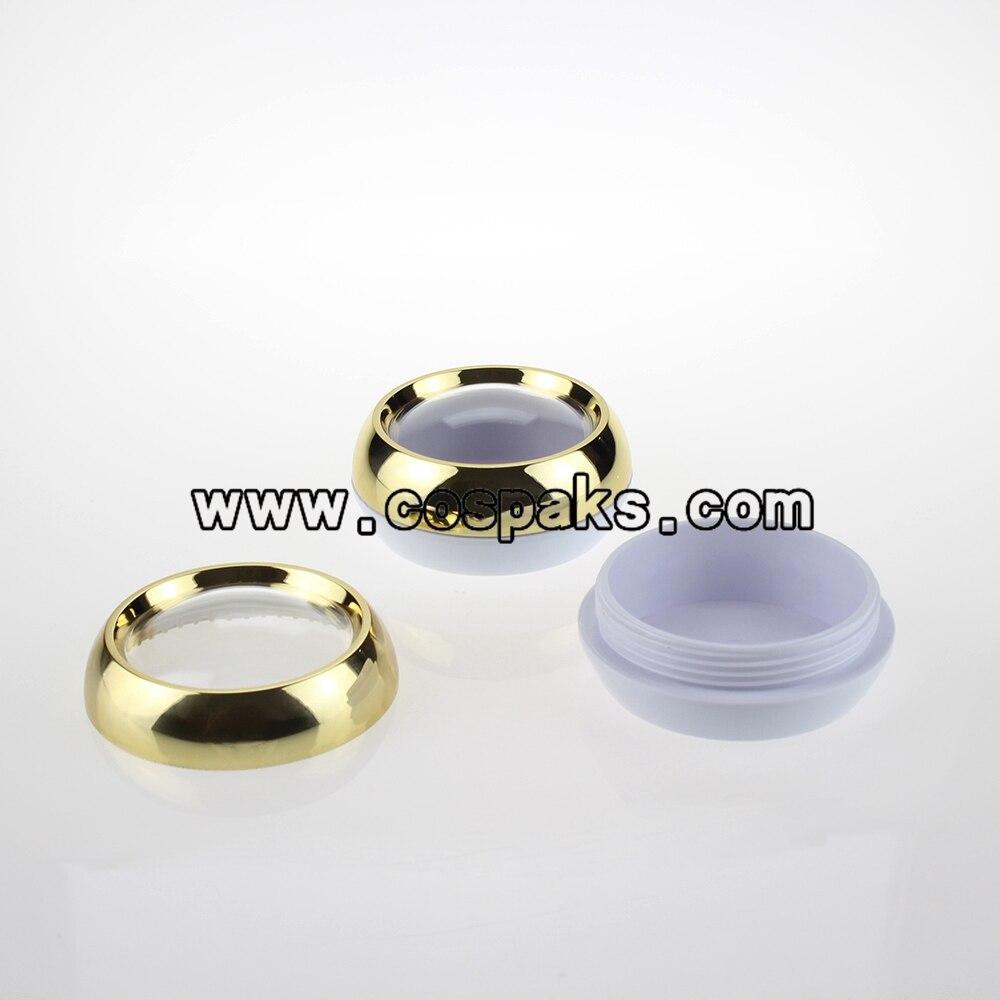 50 pcs 45 ml new vazio recipiente de po solto 45g golden beauty produto recipientes com