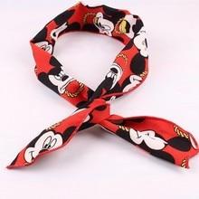 Girl Minnie Mickey Ears Hair Accessories Headband Kids adulte hair band minnie mouse women Bows girl accessories