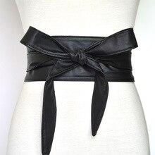 תחרה עד עור מפוצל רחב אבנטי רצועת חגורות לנשים בנות גבוהה מותן הרזיה חגורת מחוך קשרי קשת להקות VKAC1002