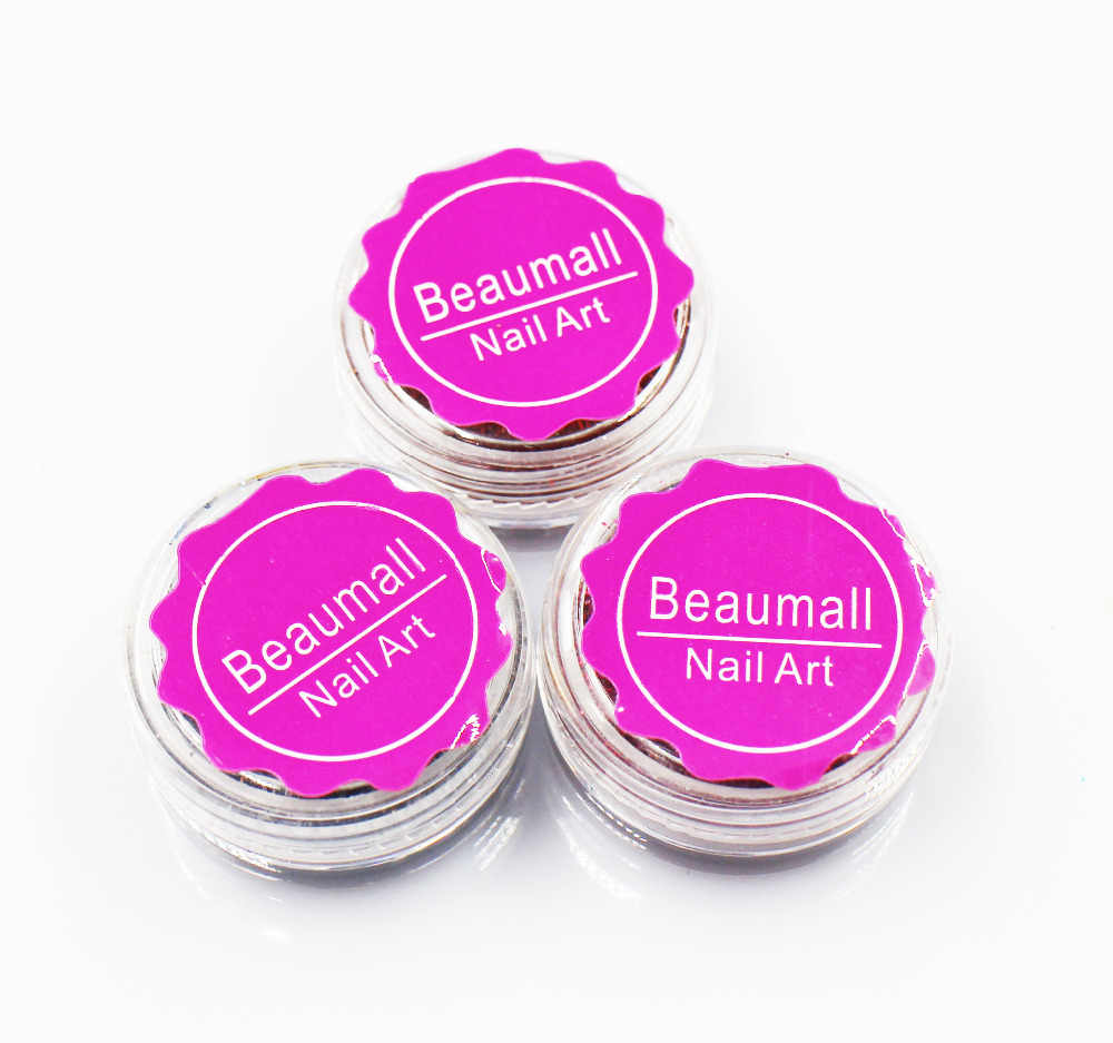 2.5g/pot,0.2mm (1/128 008) Holographic Laser Glitters Powders Dusts Chrome Pigments For Nail , Tatto Art Decorations.