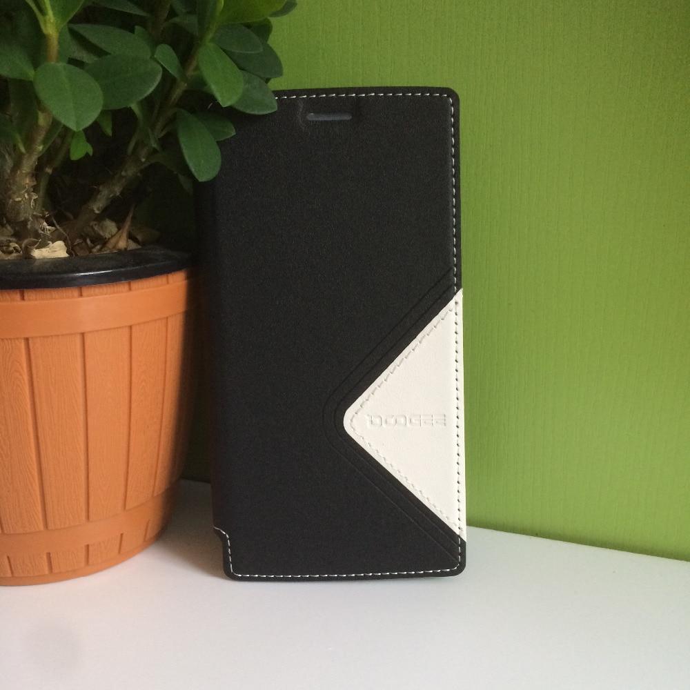 DOOGEE X5 MAX härdat glas + Protector Läderfodral Flip Case - Reservdelar och tillbehör för mobiltelefoner - Foto 1
