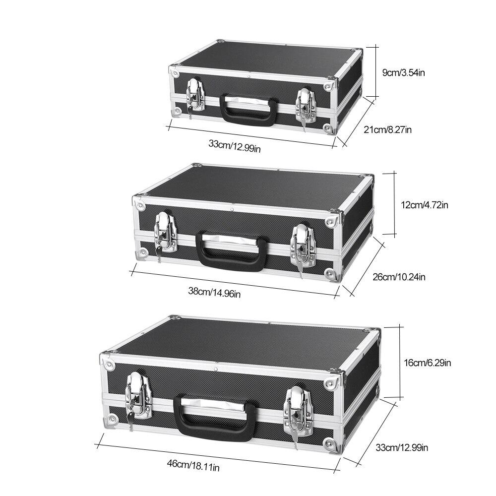 IKayaa DE Lager 3 STÜCKE Werkzeugkoffer Tragbare mehrzweck ...