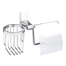 Бумагодержатель WasserKRAFT Leine K-5059 WHITE (Металл, хромоникелевое покрытие)