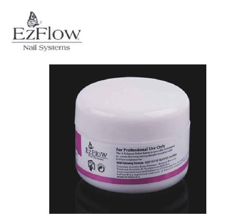 Ezflow New 1pcs clear color nail Acrylic Powder Liquid Nail Art Tips ...