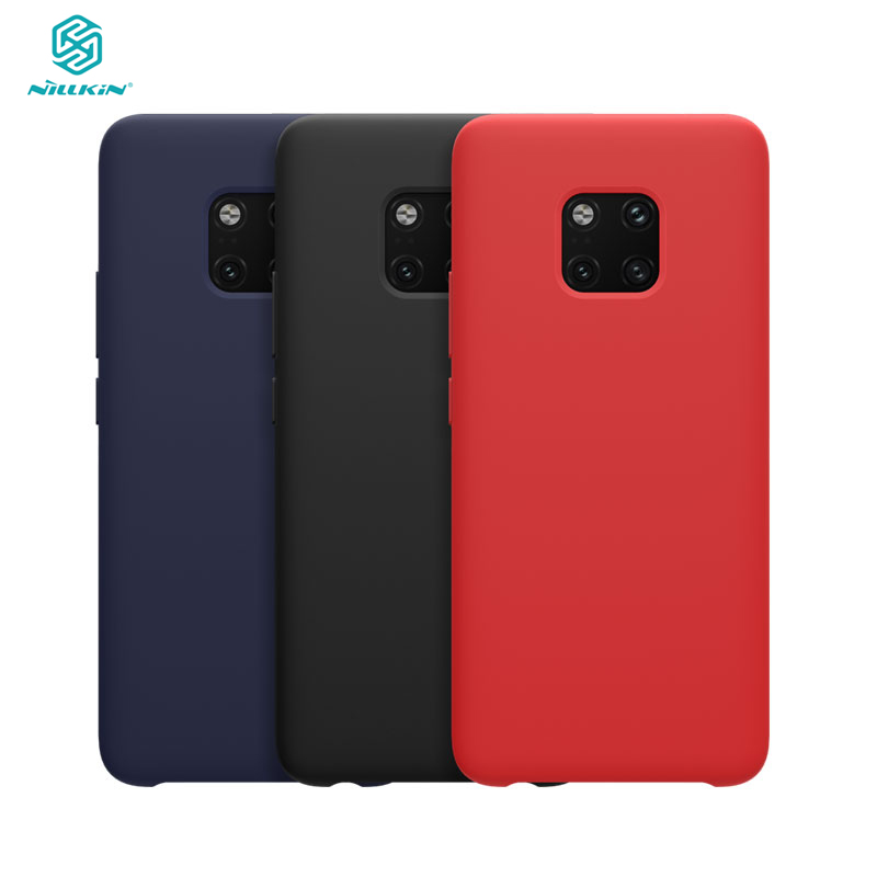 Huawei Mate 20 Pro Case Nillkin Liquid Smooth Silicone Case For Samsung Mate 20 Pro Cover Luxury Protective BagsHuawei Mate 20 Pro Case Nillkin Liquid Smooth Silicone Case For Samsung Mate 20 Pro Cover Luxury Protective Bags