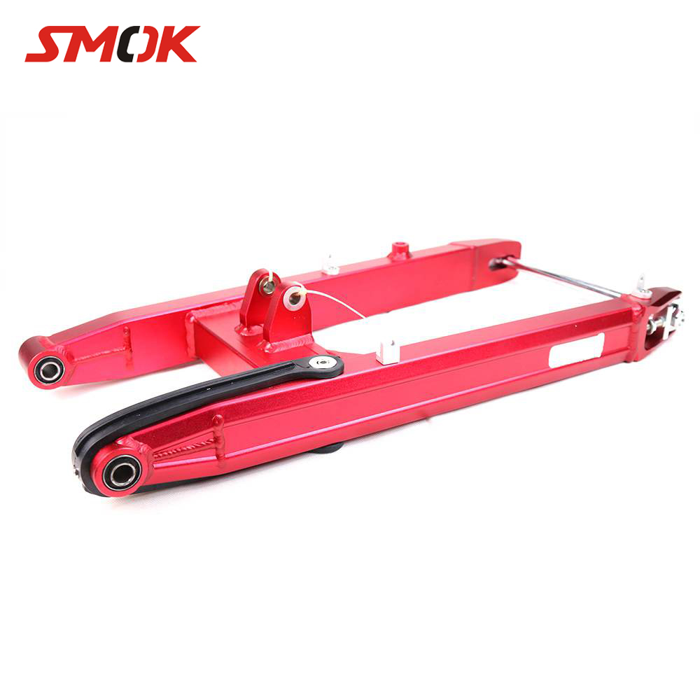 SMOK Motorcycle Accessories CNC Aluminum Alloy Rear Standard Swing Arm Suspension Swing Arm Fork For Yamaha RC150 цена