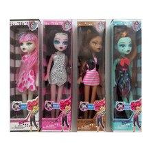 24 cm mode fille barby poupées monstre poupées BJD Action Figure brinquedos bébé poupées jouets fille cadeau Halloween noël naissance jouets