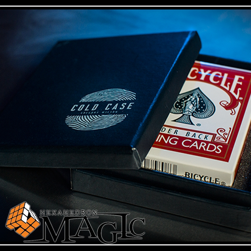 Free Shipping! Cold Case (Gimmick And Online Instructions) By Greg Wilson  Close Up Street Mentalism Classic Card Magic Tricks