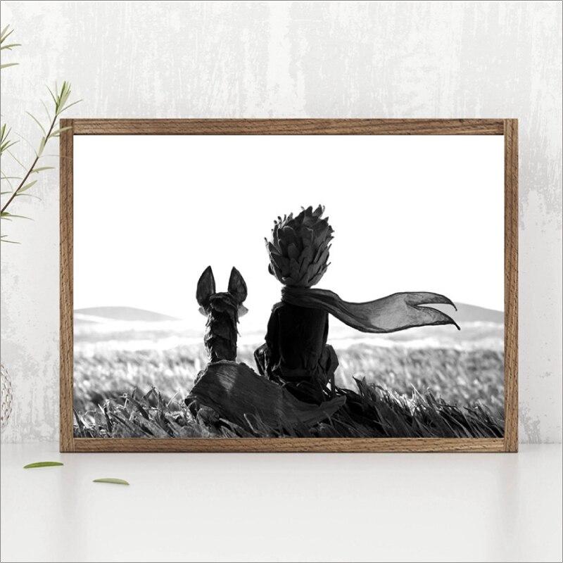 Küçük Prens Peri Film Afişleri Baskı Duvar Sanat Resmi Iskandinav
