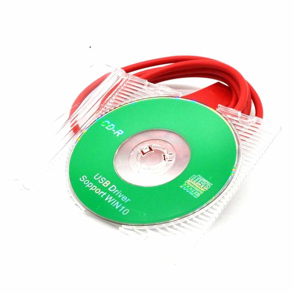Original Talkie-walkie WOUXUN KG-UVD1P KG-UV6D KG-UV8D KG-UV899 KG-UV9D PLUS Câble de Programmation USB + Logiciel de Programmation CD