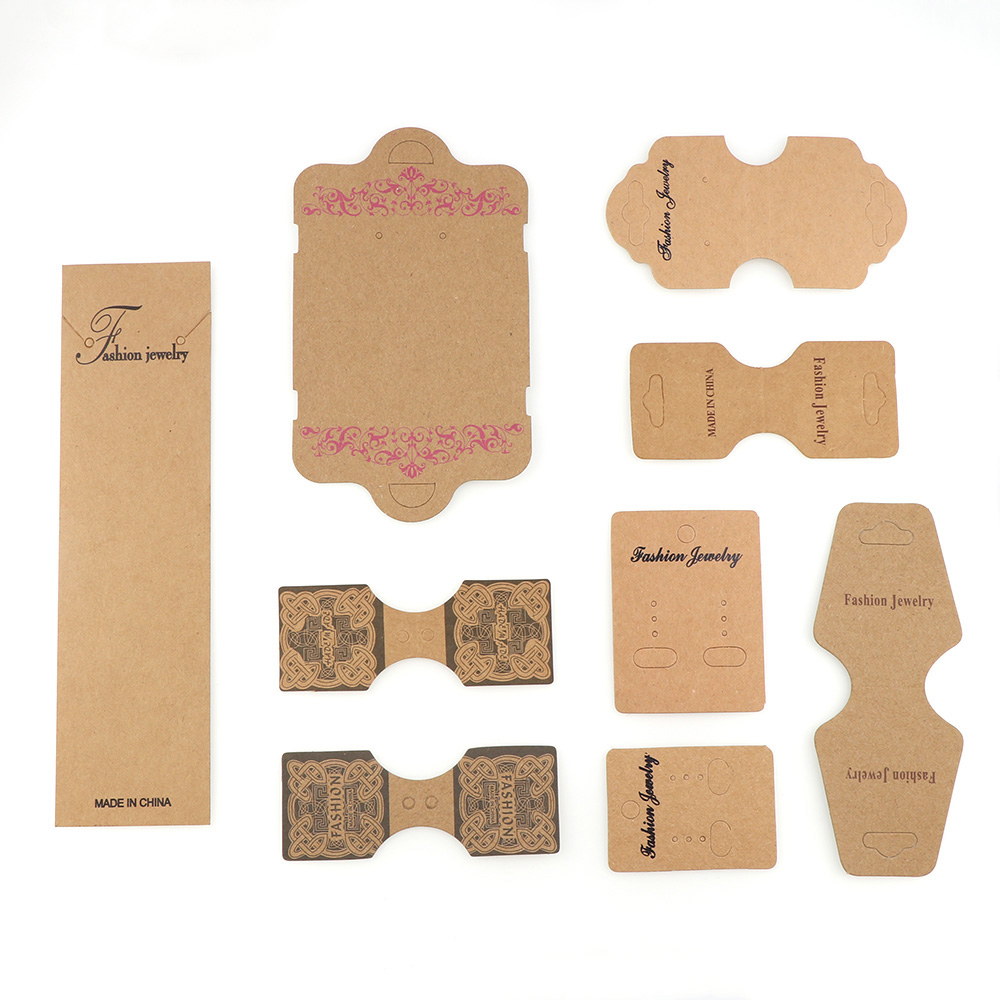 Jewelry Packaging & Display Back To Search Resultsjewelry & Accessories Trend Mark 100pcs Colorful Printing Paper Cards Jewelry Necklace Bracelet Hang Tag Jewelry Display Cards Label Tag 4.5x10.8cm