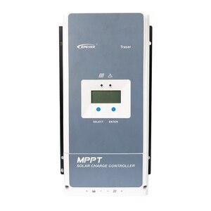 Image 2 - EPever MPPT 100A الشمسية جهاز التحكم في الشحن 12 فولت 24 فولت 36 فولت 48 فولت الخلفية LCD ل ماكس 200 فولت PV المدخلات تسجيل الوقت الحقيقي 10415AN 10420AN
