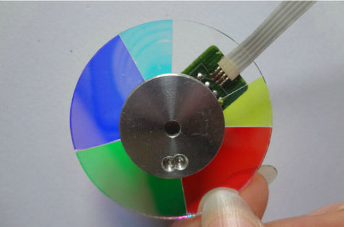 Free shipping ! 100% new Quality Guarantee 102329723 Projector Color Wheel with Three Months Warranty used servo motor hc kfs053d almost new warranty for three months