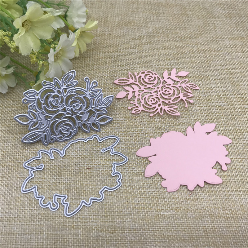 Lace  Flower Metal Cutting Dies Stencil For DIY Scrapbooking Photo Album Embossing Paper Cards Crafts Die Cuts