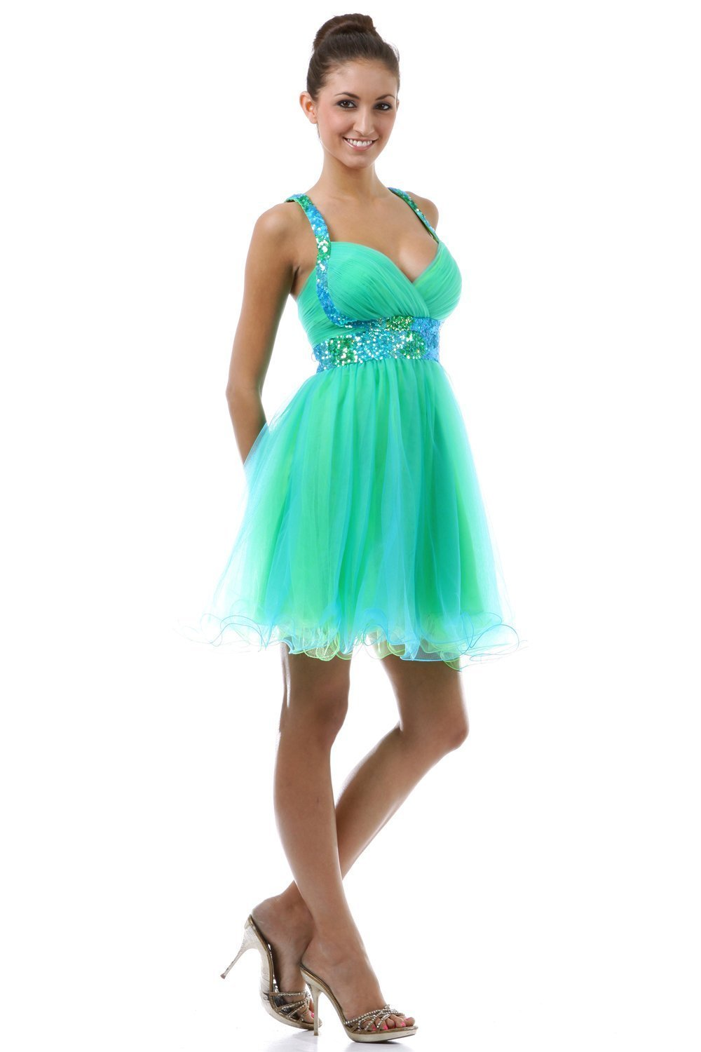 Online Get Cheap Short Green Dresses for Teens -Aliexpress.com ...