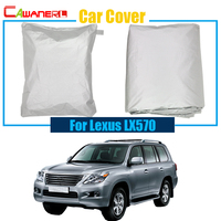 Car Cover Rain Snow Resistant Protection Cover Sun Shade Anti UV Waterproof Dustproof For LX Series
