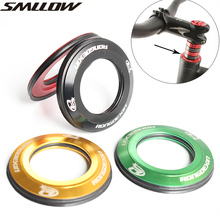 Bicycle 44mm Bowl Group Cover Mountain Bike Flat Head Bowl Cover 28.6 Straight Pipe Forklift Head Bowl Cover Flat Bowl Cover Top все цены